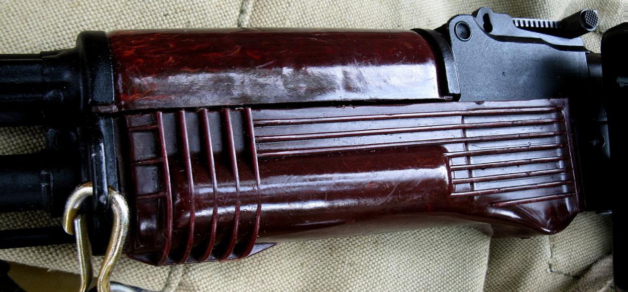 Images of some hyper rare Soviet AK-74 handguards
